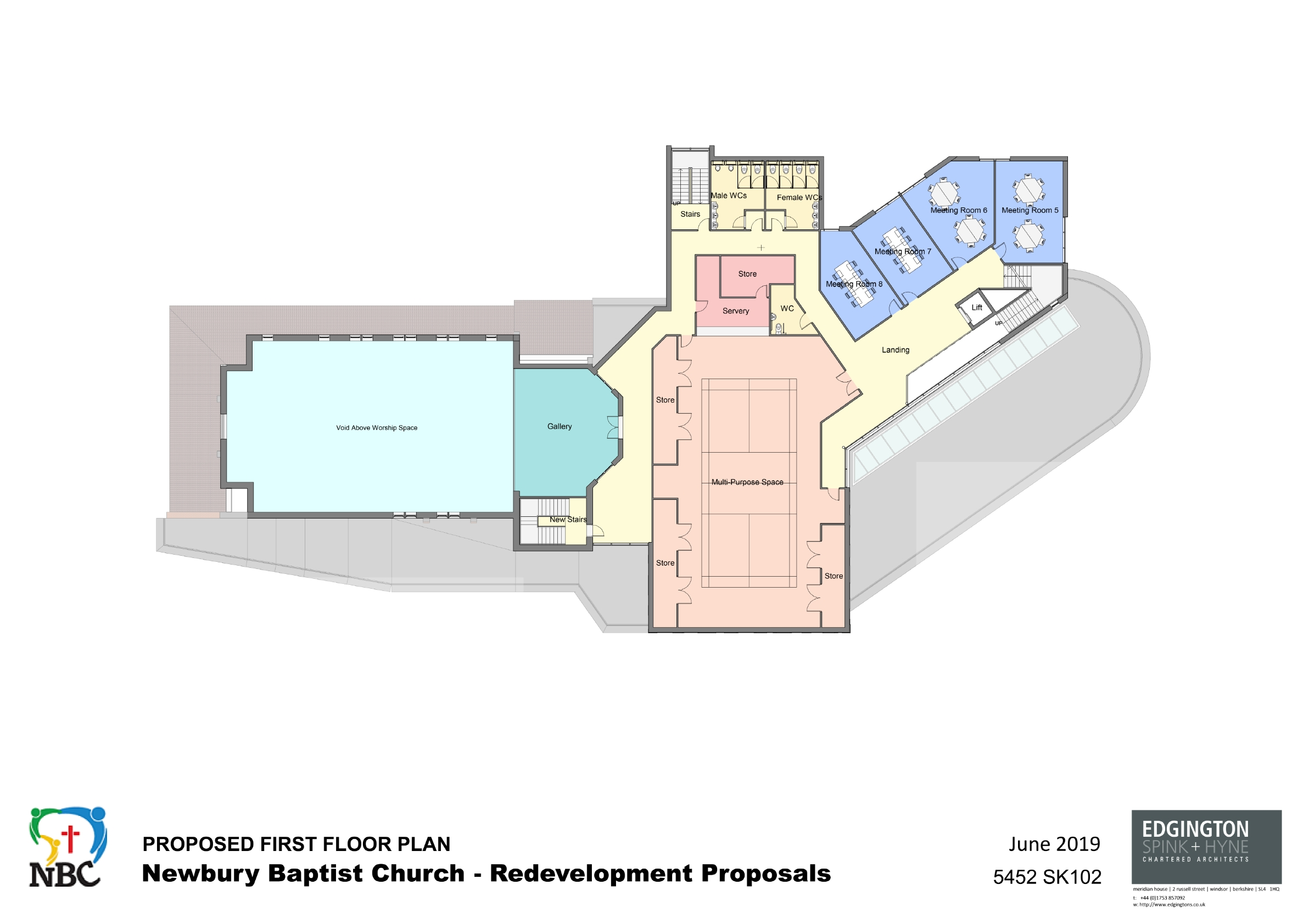 5452-Proposed First Floor Plan